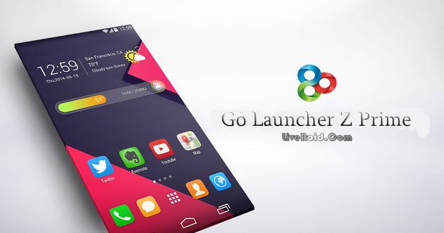 GO Launcher Z - Theme & Wallpaper – لانچر قدرتمند اندروید
