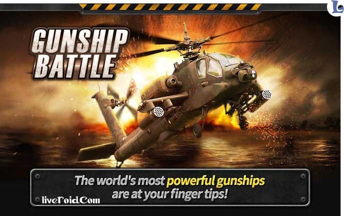 GUNSHIP BATTLE: Helicopter 3D – دانلود بازی نبرد هلیکوپترها اندروید + مود + دیتا
