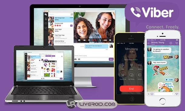 Viber For Android + Viber For Windows – پیام رسان وایبر اندروید